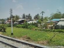 Yangon - circular train view 7
