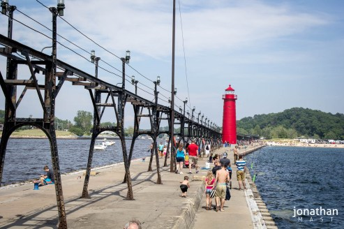Grand Haven State Park, Grand Haven, MI - Photo by Jonathan Mast