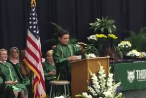 8th grader grad speech