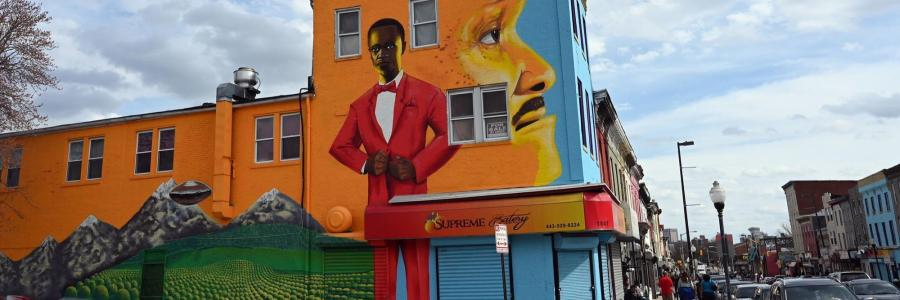Baltimore's Pennsylvania Avenue now a state-designated black arts and entertainment district