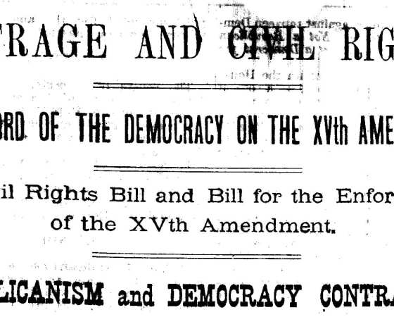 """Black History Moment: The Enforcement Acts (""""KKK Acts"""") of 1870-71"""