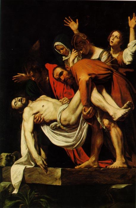 Caravaggio, The Entombment of Christ