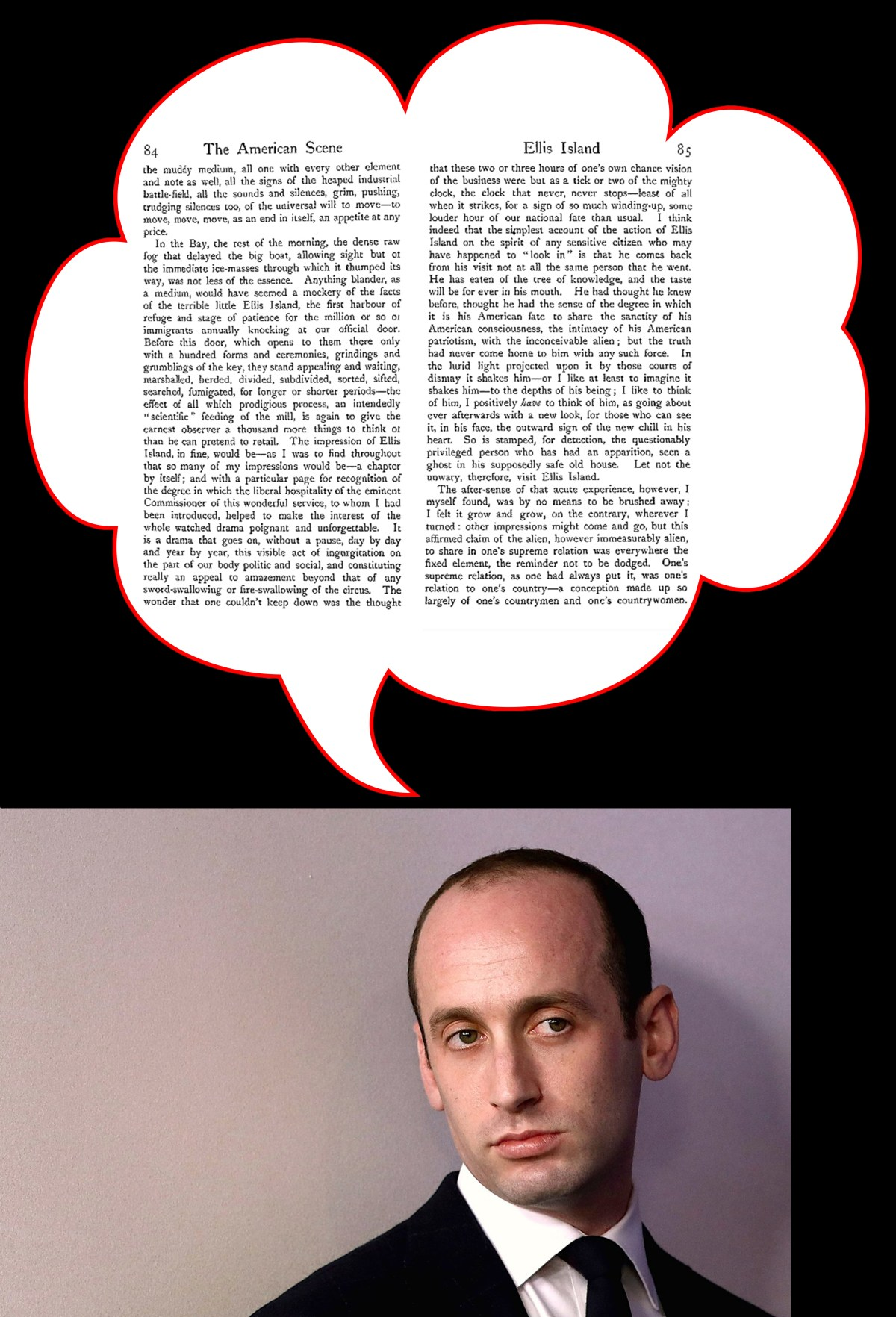 Stephen Miller reads Henry James