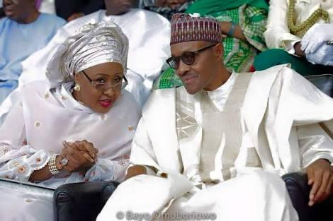 Aisha and Mohamodu Buhari