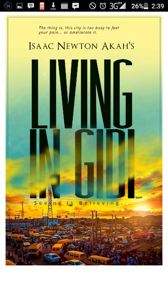 Isaac Newton's Living in Gidi Cover