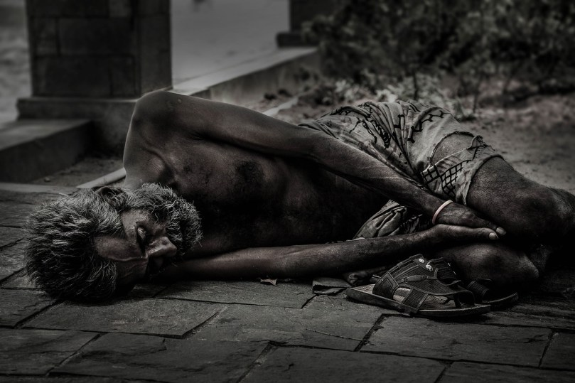 poor man remains poor