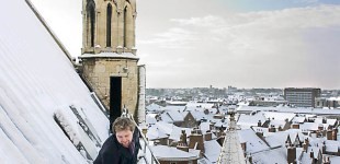 York Minster covered in snow by Jonathan Pow.
