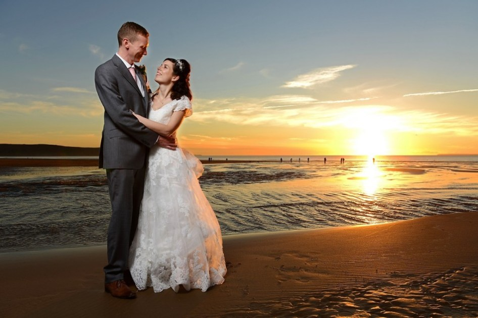 The wedding of Emma and Andrew Todd at the Woolacombe Bay Hotel, Devon.
