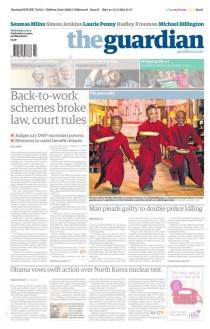 The Guardian - Leeds Chorister Pancake Shrove Tuesday