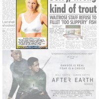 FASHION - Poundworld £1 bra in the national newspapers and New York Daily News