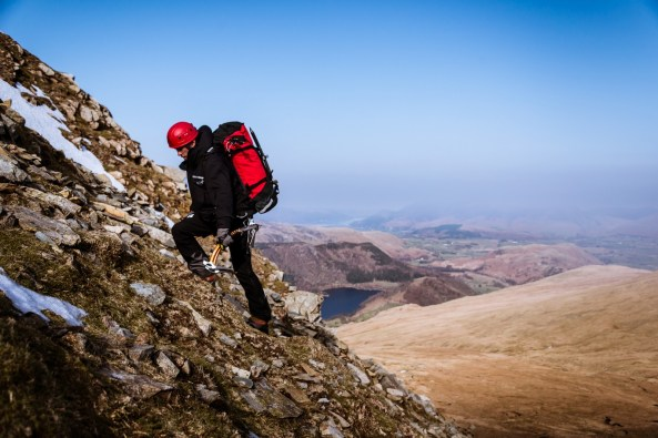Lake District outdoor clothing mountaineering photo shoot (for PHD Mountain Software)