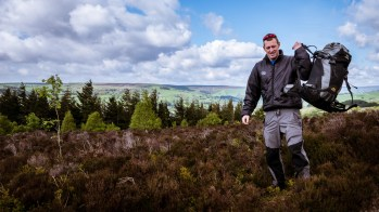 Yorkshire Dales outdoor clothing photo shoot (for PHD Mountain Software)