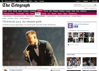Justin Timberlake on the Daily Telegraph's music festival guide 2014. He was a dapper mover! #manchester #photographer