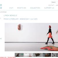 Hepworth Wakefield art gallery - Lynda Benglis