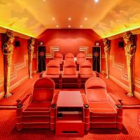 Stunning art deco home cinema, Ludhill House
