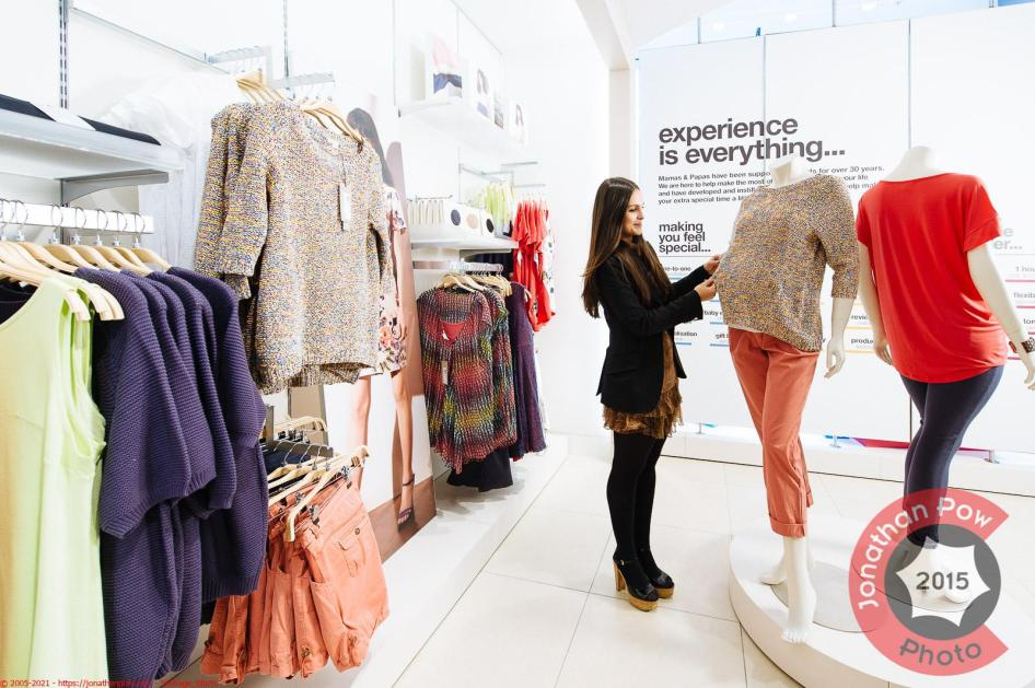 Lifestyle Interior of Mamas and Papas new flagship store in Leeds Trinity