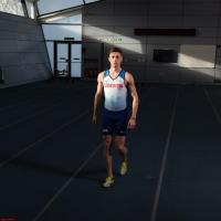 GB runner Cameron Ross Boyek, from Durham, for Tesco T magazine (Made by Sonder)