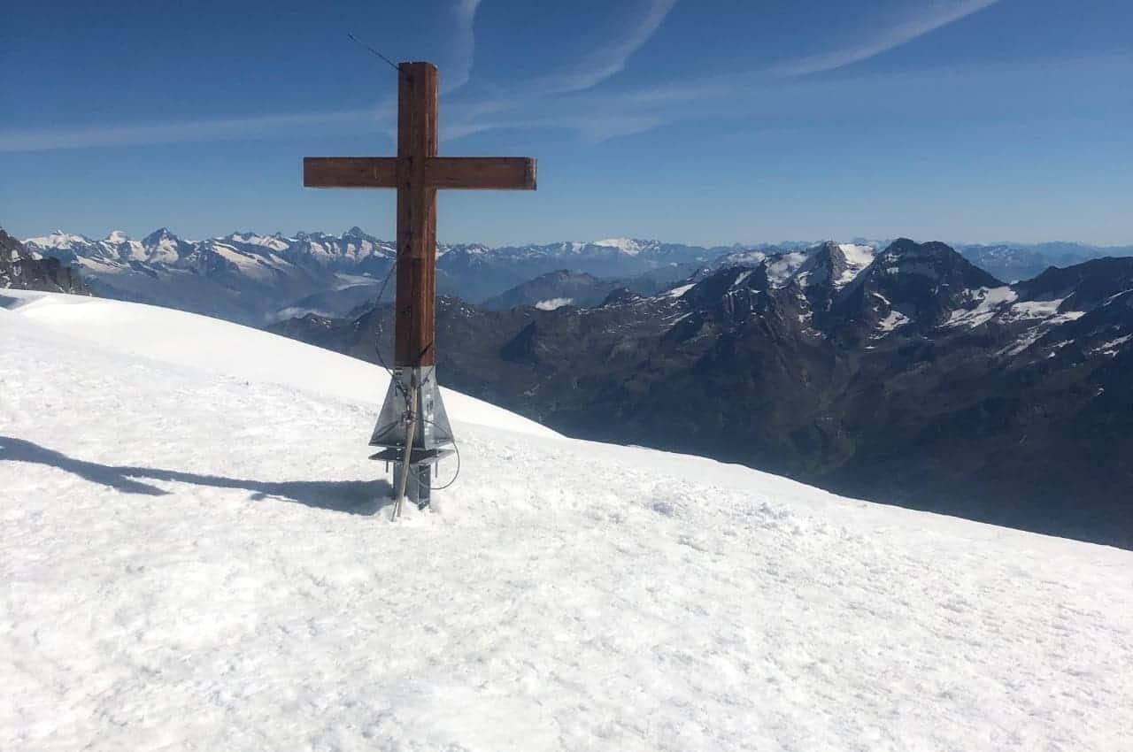 Titelbild Alphubel - Alphubel (4206m) - Besteigung aus dem Tal