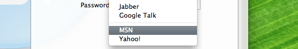 Read more about the article Using ichat or imessage to talk to msn on osx. without jabber!