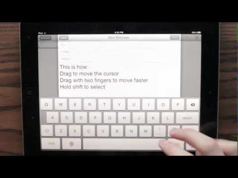 Read more about the article Concept video for ipad text editing