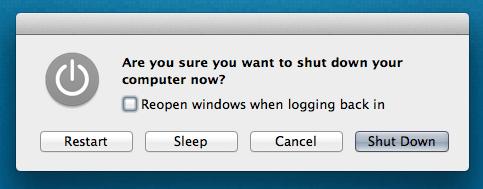 Read more about the article Shutdown sleep lock screen keyboard shortcuts mac osx