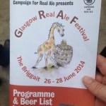 Glasgow Real Ale Festival