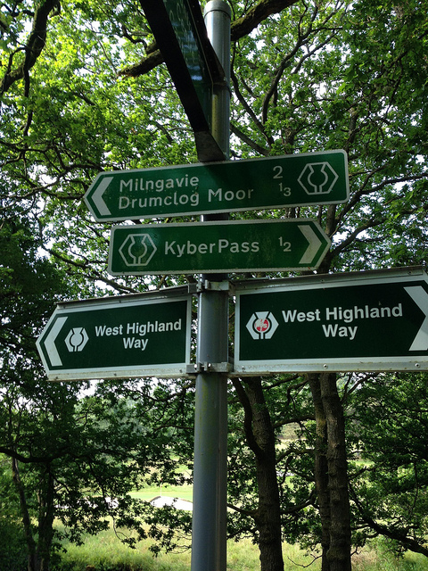 West Highland Way Day 1 - Milngavie to Drymen