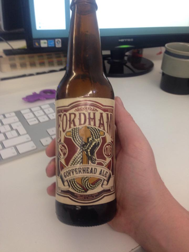 Read more about the article Fordham Copperhead Ale