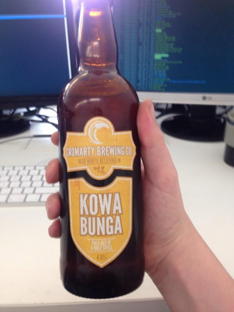 Cromarty Brewing Co Kowa Bunga