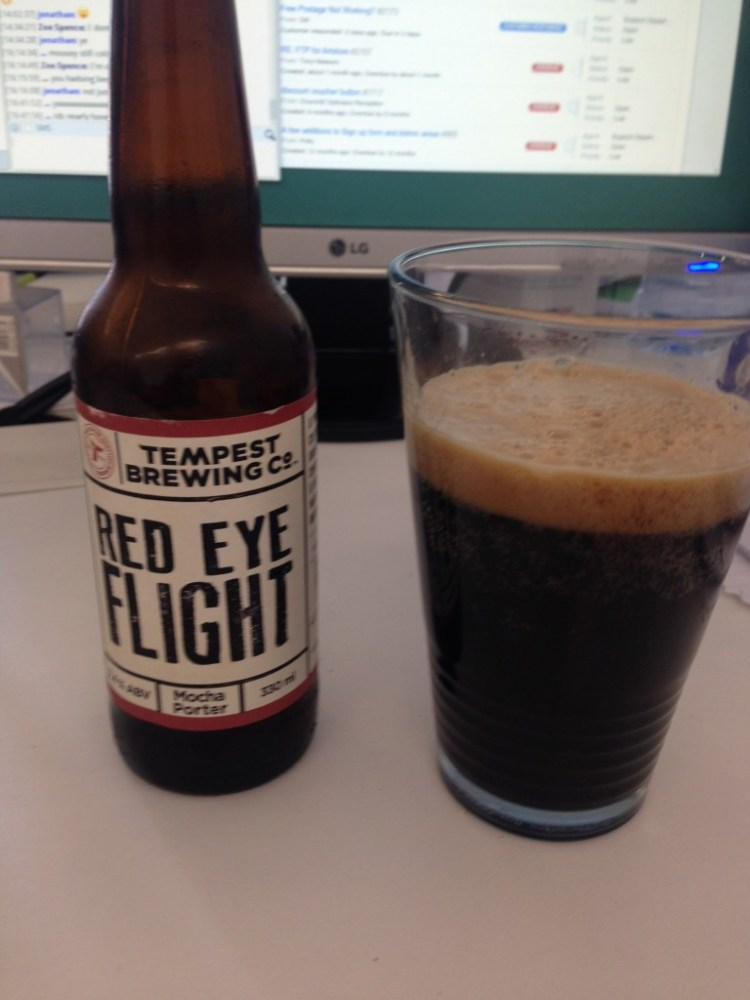 Tempest Brewing Co Red Eye Flight