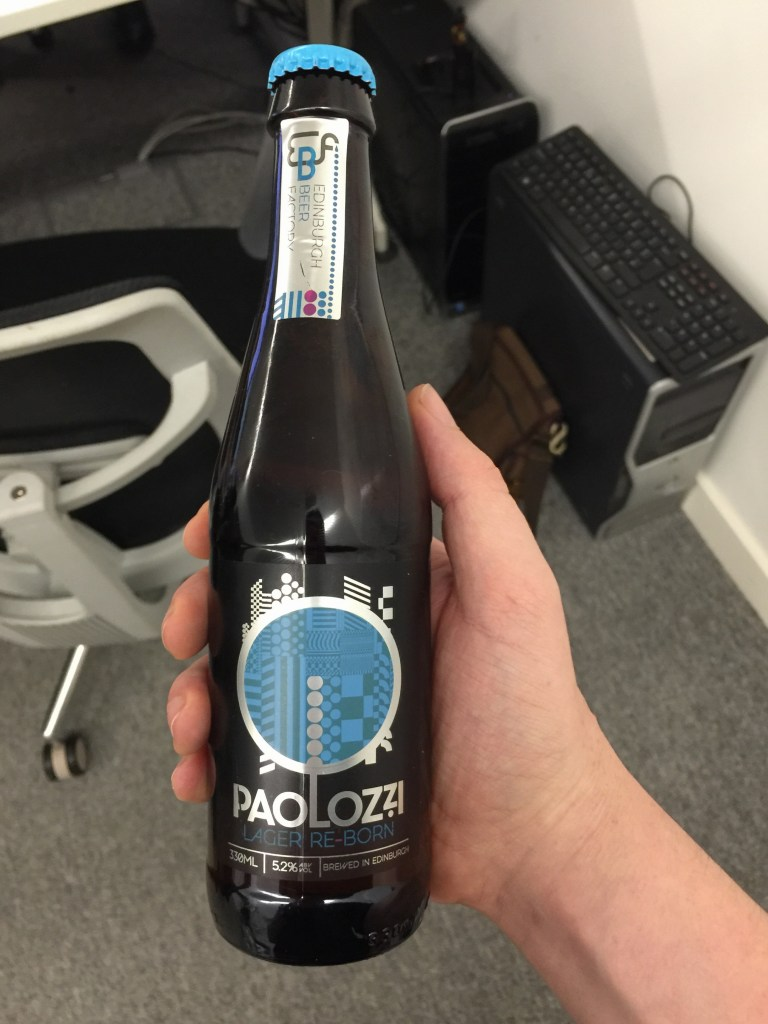 Read more about the article Edinburgh Beer Factory Paulozzi