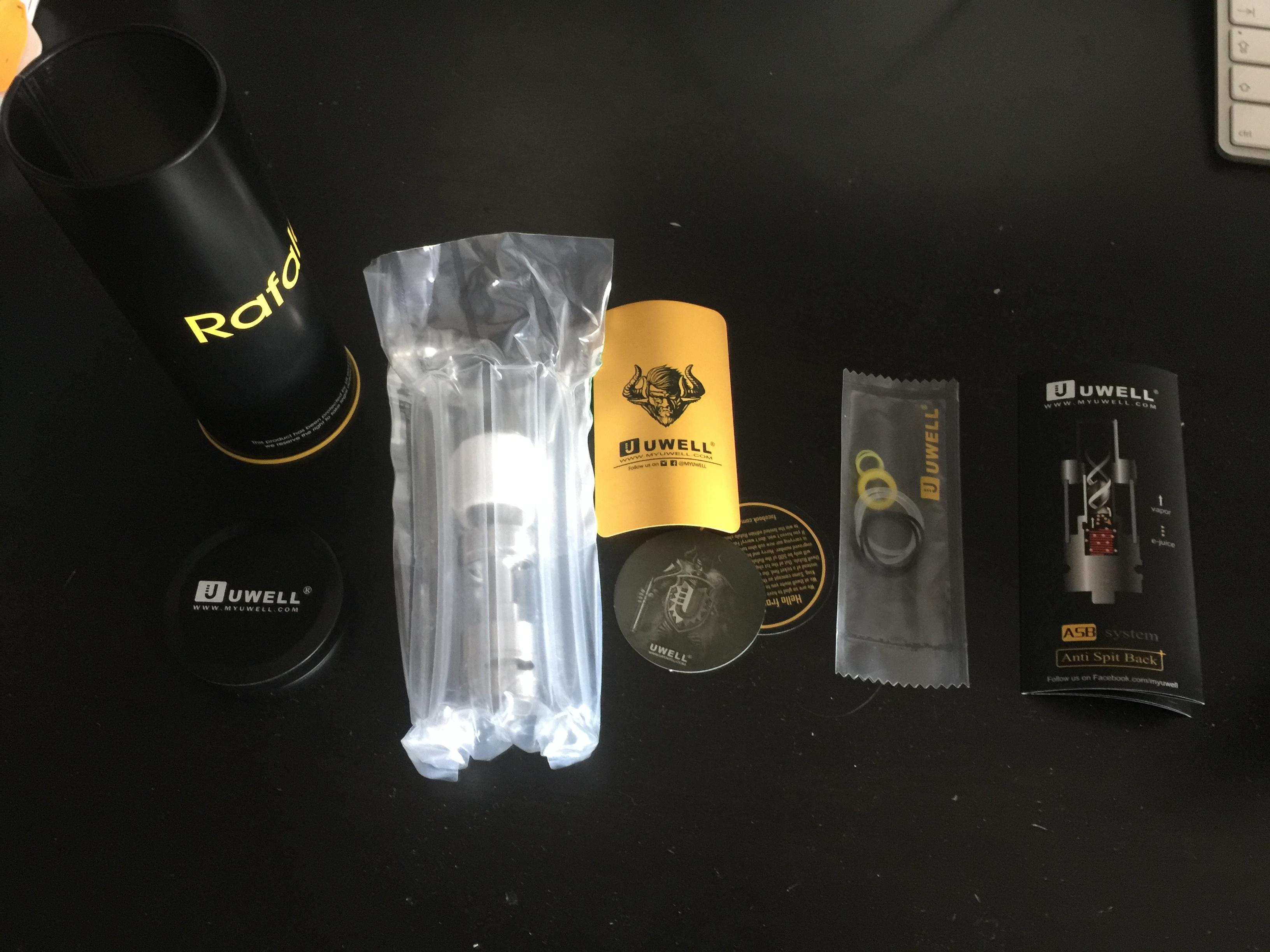 Read more about the article Uwell Rafale