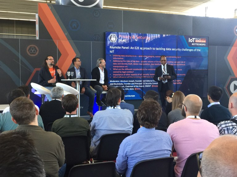 Read more about the article Keynote panel: An E2E approach to tackling data security challenges of the IoT