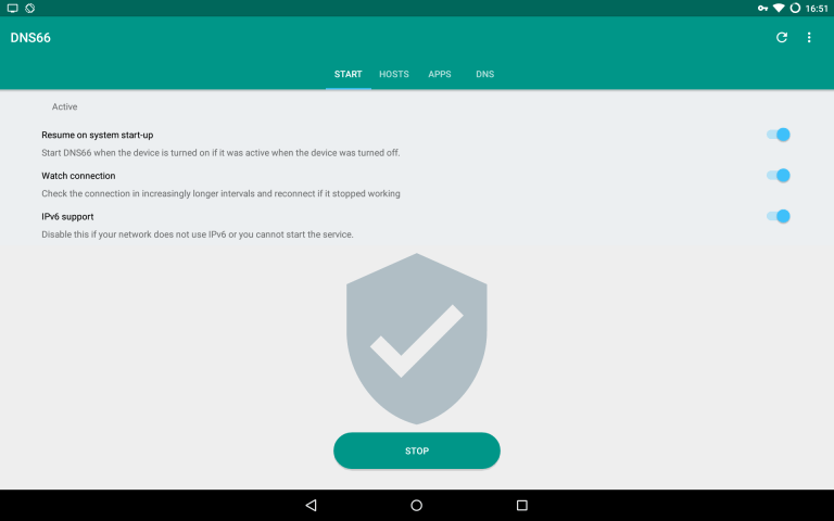 Read more about the article Ad blocking on android using dns666