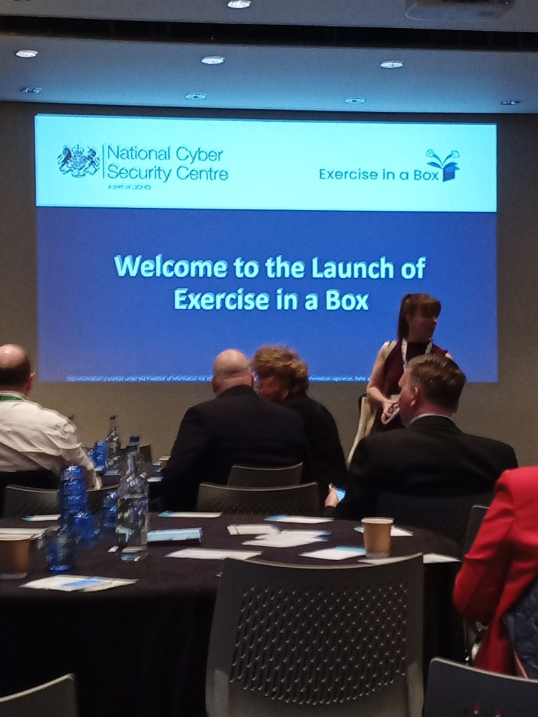 Read more about the article NCSC Excercise in a box launch