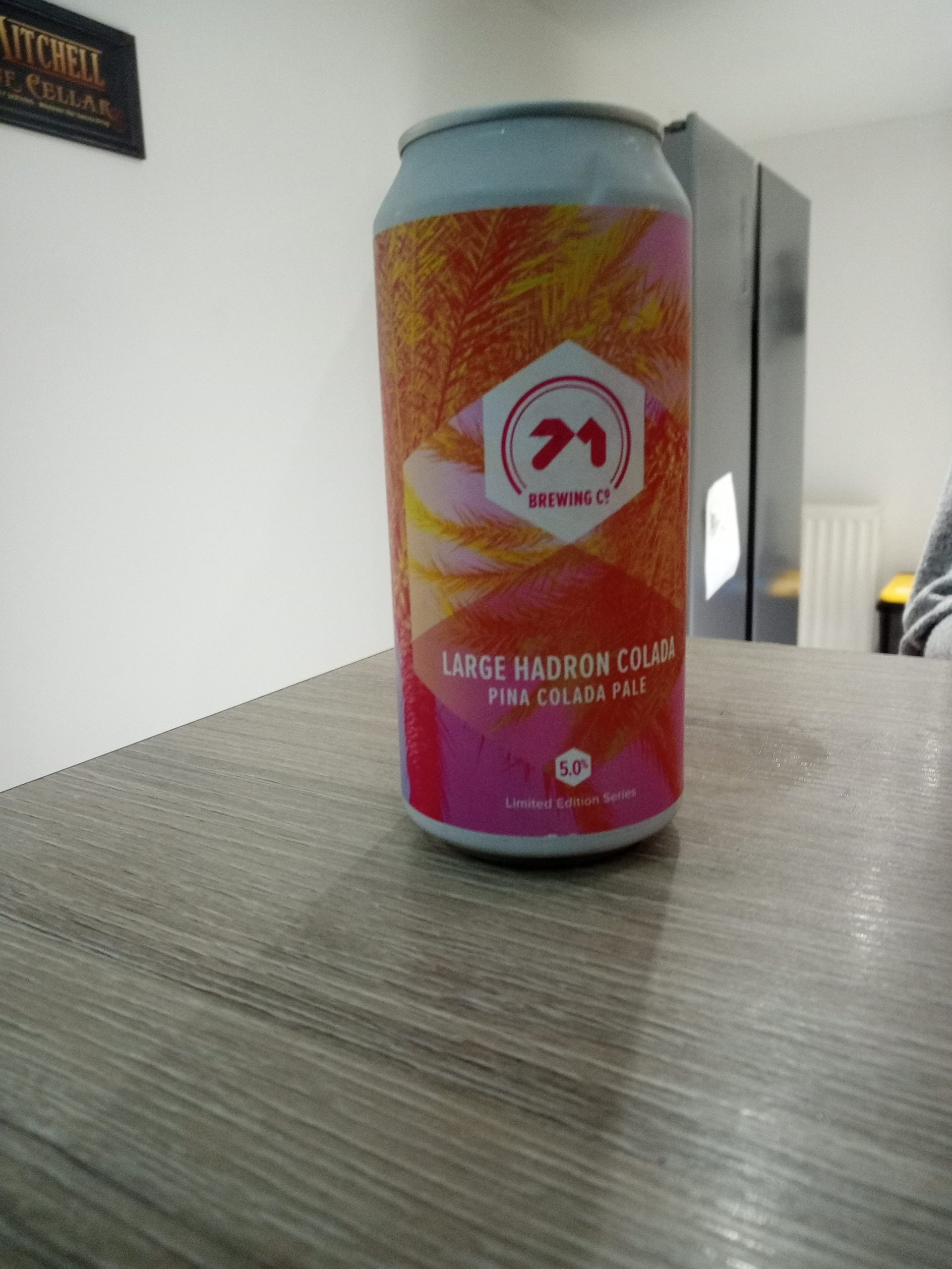 Read more about the article Large Hadron Colada – Pina Colada Pale Ale