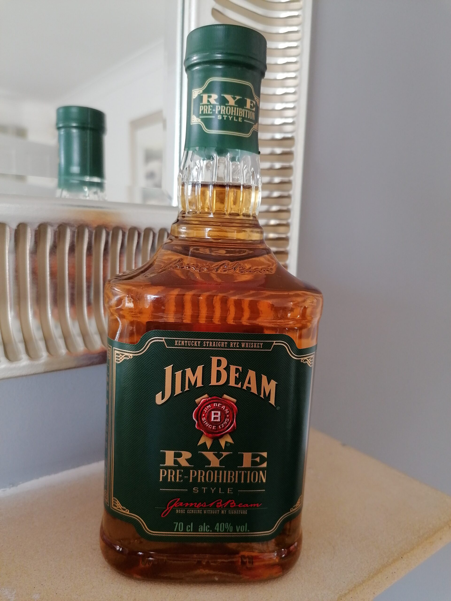 Read more about the article Jim Beam Pre Prohibition Rye