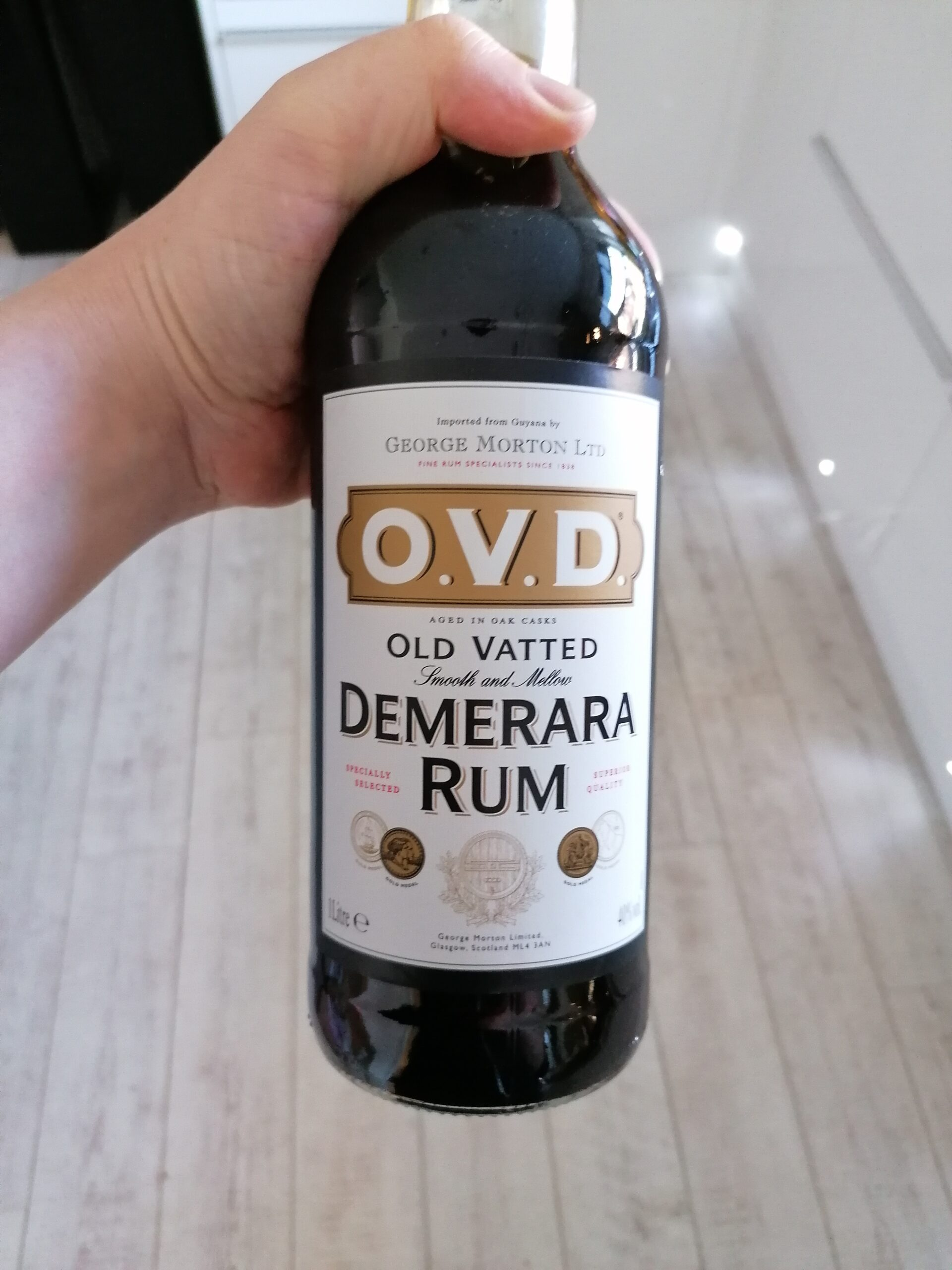 Read more about the article Old Vatted Demerara Rum