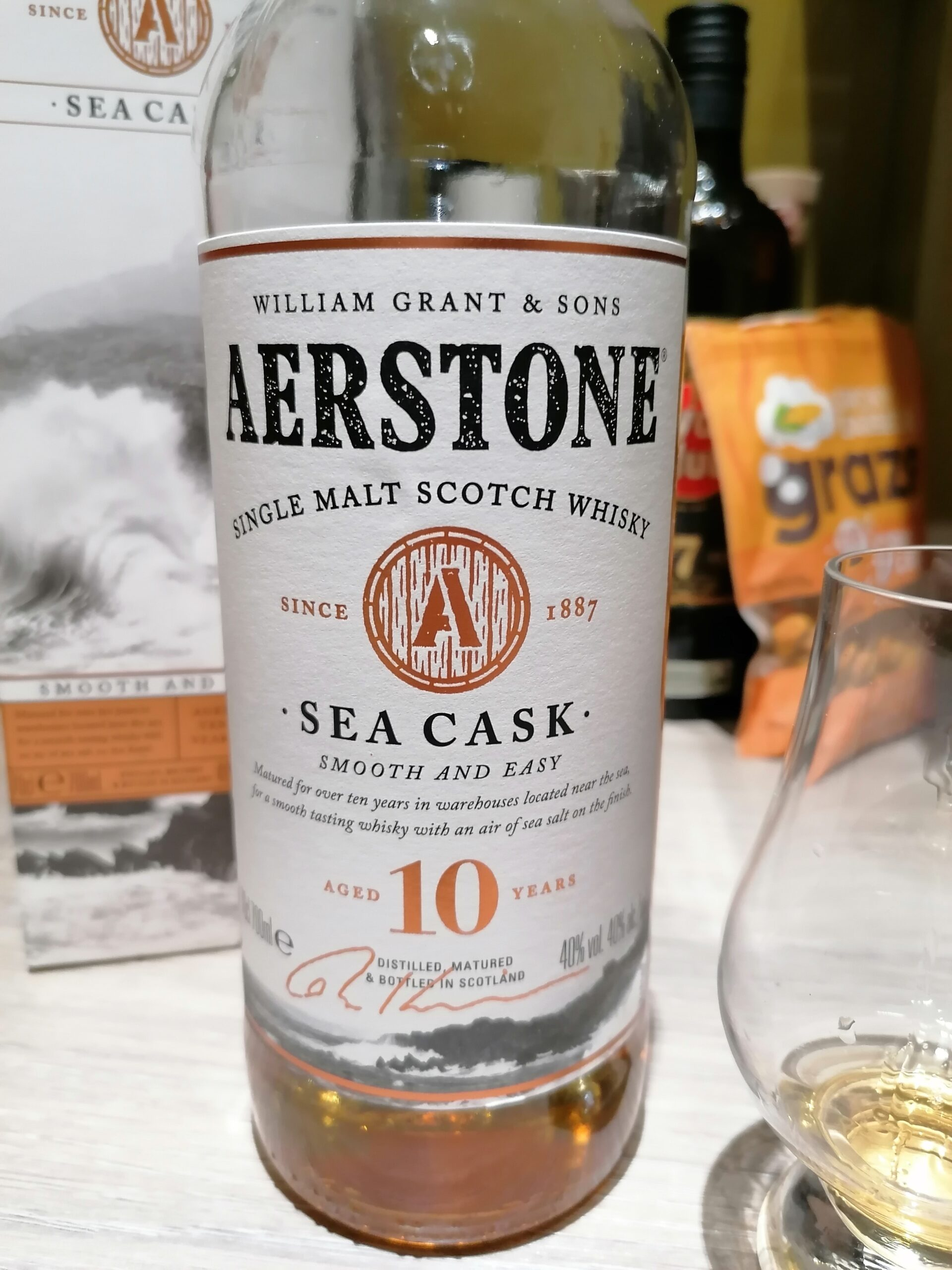 Read more about the article Aerston Sea Cask 10 year old single malt