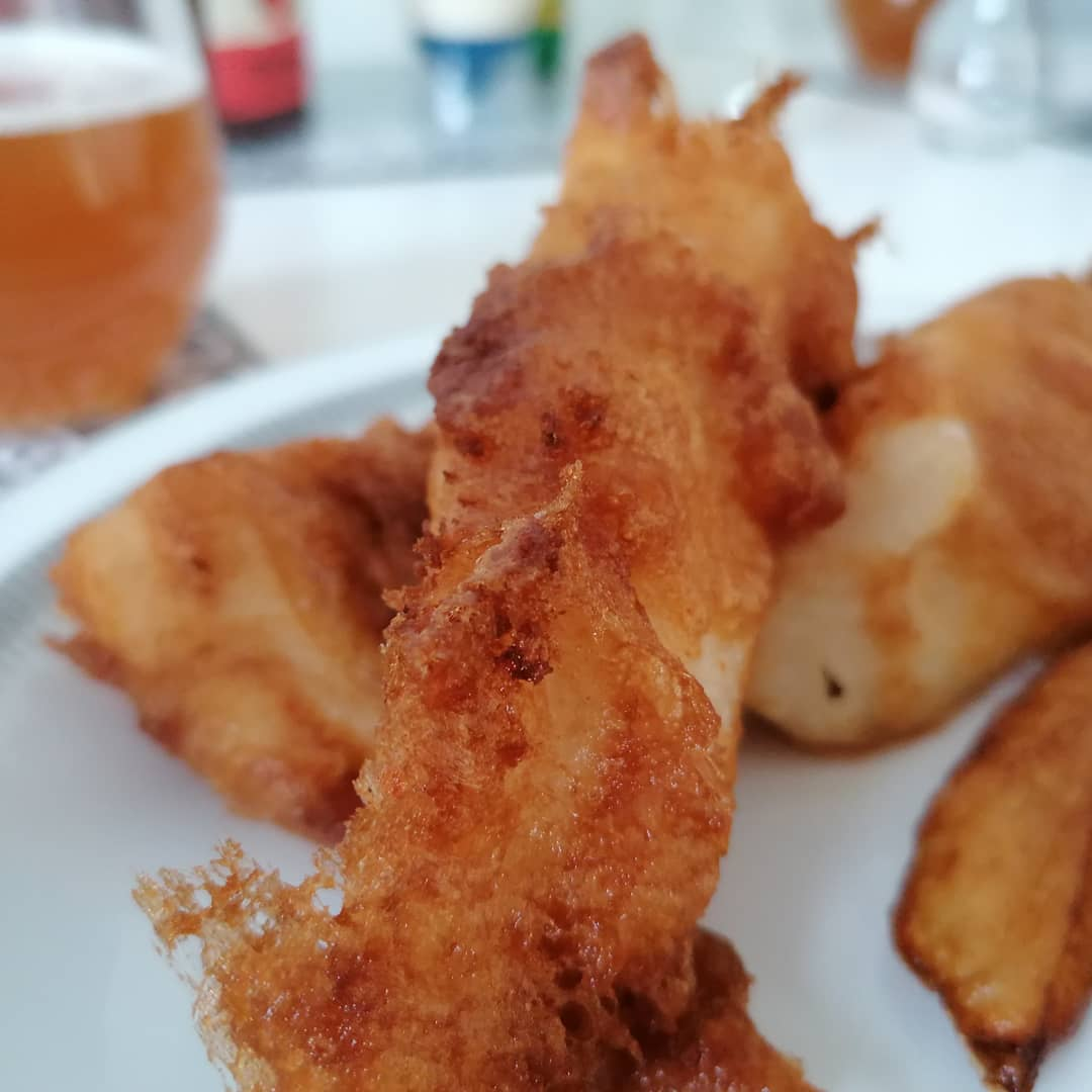 Read more about the article Homebrew IPA Beer battered haddock and chips