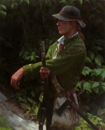 Young Ranger, oil on linen, 20x16, SOLD