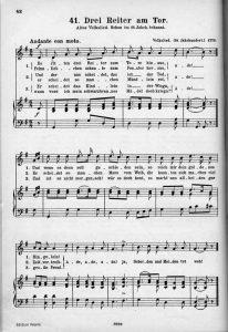 Tchaikovsky's Großvater - a source from Erk's Liederschatz