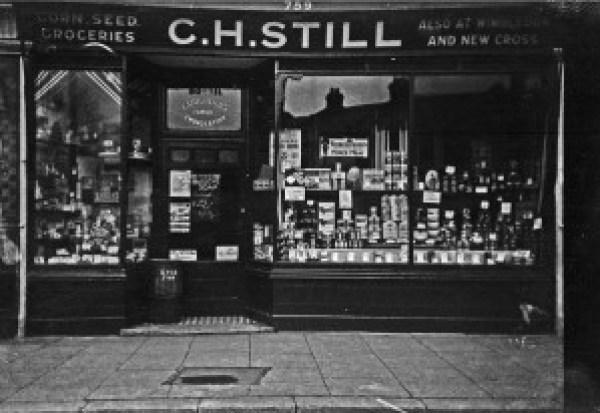 My grandfather's cornchandler's shop in Garratt lane, a bit of Tooting history