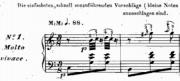 Etudes ballet music: beginning of the ronds de jambe en l'air music