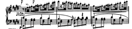 "The Prelude from ""La Traviata"" - I can take slow when it's got a bit of fast in it, like this"