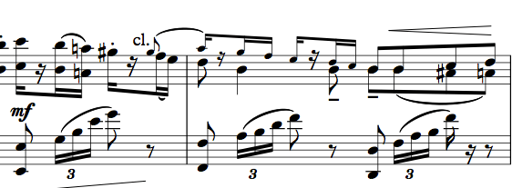 Bet you haven't seen this before: a piano reduction of Drigo's orchestration of Black Swan female variation
