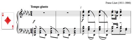 Csárdás for ballet class by Liszt