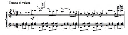 A six eight allegro by Verdi (piano score)