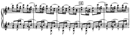 Siloti's arrangement of the Diamond Fairy