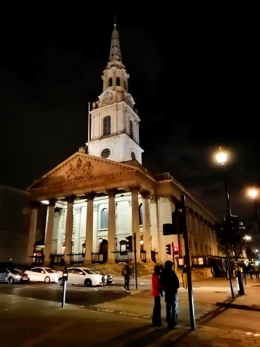Picture of St Martin in the Fields, Trafalgar Square